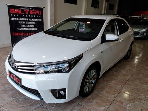 Toyota Corolla 1.8 SE-G CVT usado (2017) color Blanco precio $2.730.000