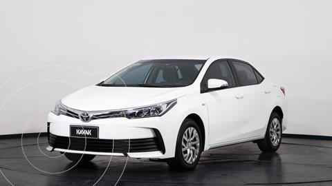 Toyota Corolla 1.8 XLi CVT usado (2018) color Blanco precio $2.610.000