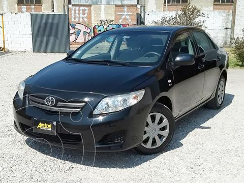 Toyota Corolla 1.8 XLi usado (2009) color Negro precio $500.000