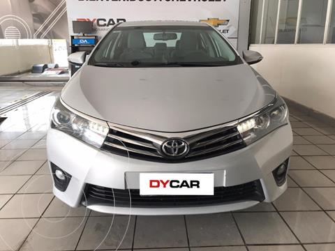 Toyota Corolla 1.8 XLi CVT usado (2016) color Gris Claro precio $1.850.000
