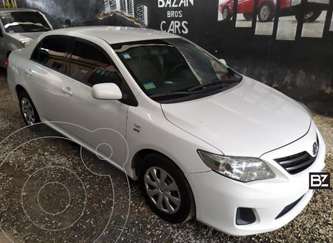 Toyota Corolla 1.8 XLi usado (2012) color Blanco precio $1.000.000