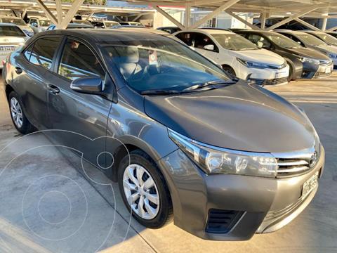 Toyota Corolla 1.8 XLi usado (2015) color Gris Oscuro precio $1.620.000