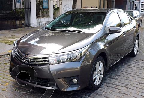 Toyota Corolla 1.8 XEi Pack CVT usado (2017) color Gris Oscuro precio $2.490.000