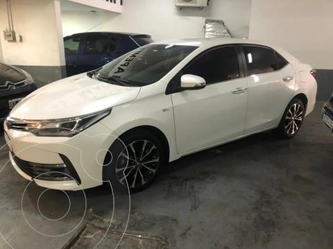 Toyota Corolla 1.8 SE-G CVT usado (2018) color Blanco precio $2.280.000