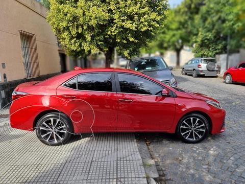 Toyota Corolla 1.8 SE-G CVT usado (2019) color Rojo precio $2.740.000