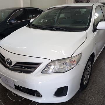 Toyota Corolla 1.8 XLi usado (2012) color Blanco precio $1.300.000