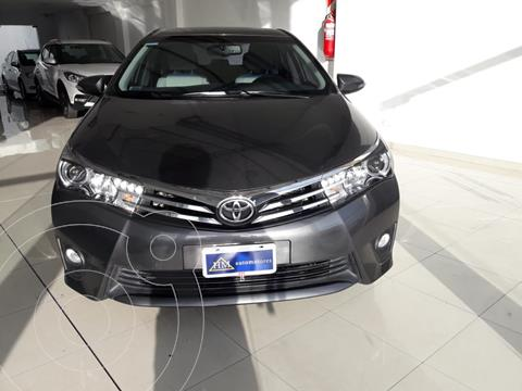 Toyota Corolla 1.8 XEi Pack CVT usado (2015) color Gris Oscuro financiado en cuotas(anticipo $950.000)