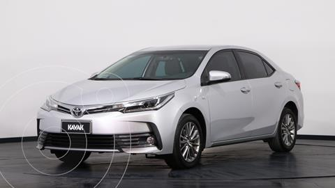 Toyota Corolla 1.8 XEi CVT usado (2017) color Gris Plata  precio $2.100.000