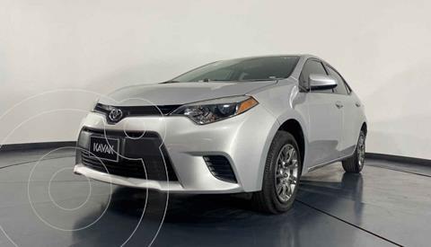 Toyota Corolla Base usado (2016) color Gris precio $207,999