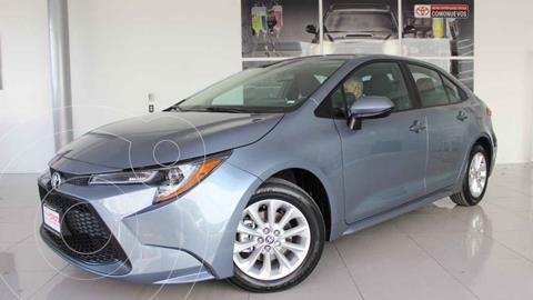 Toyota Corolla LE Aut usado (2021) color Gris precio $379,000