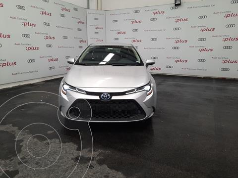 Toyota Corolla Hybrid Aut usado (2020) color Plata precio $370,000