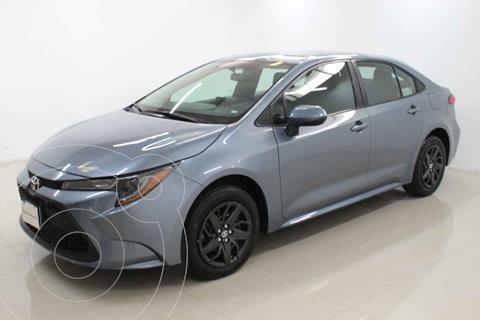 Toyota Corolla Base usado (2020) color Gris precio $309,000