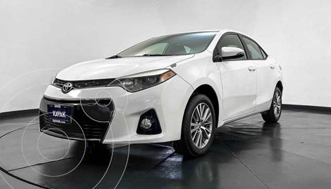 Toyota Corolla S 1.8L  usado (2015) color Blanco precio $217,999