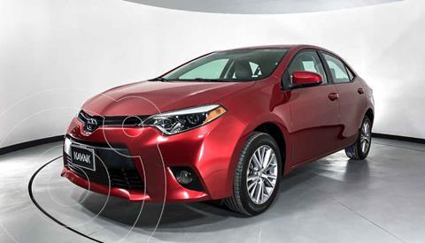 Toyota Corolla LE 1.8L Aut usado (2014) color Rojo precio $184,999