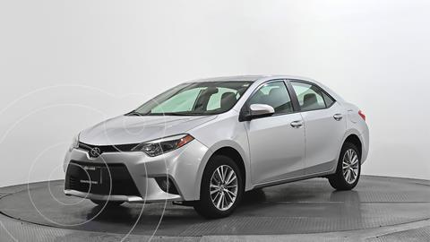 Toyota Corolla LE Aut usado (2014) color Gris precio $195,000