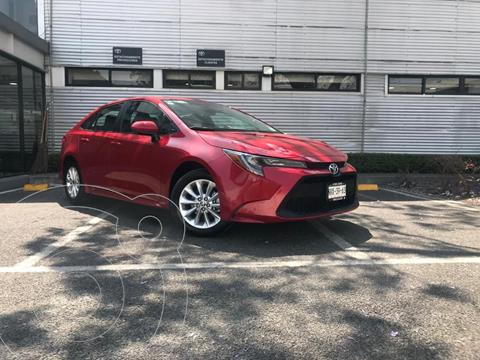 Toyota Corolla LE 1.8L usado (2020) color Rojo precio $310,000