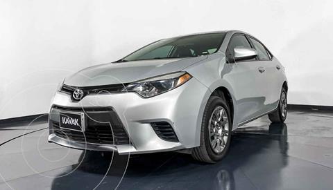 Toyota Corolla Base usado (2016) color Plata precio $202,999