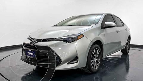Toyota Corolla Base Aut usado (2018) color Gris precio $232,999