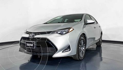 Toyota Corolla Base Aut usado (2018) color Plata precio $249,999