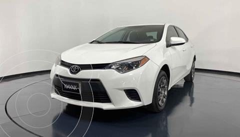 Toyota Corolla Base Aut usado (2016) color Blanco precio $207,999