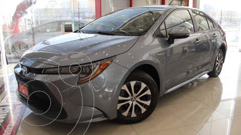 Toyota Corolla Hybrid Aut usado (2021) color Gris precio $456,700