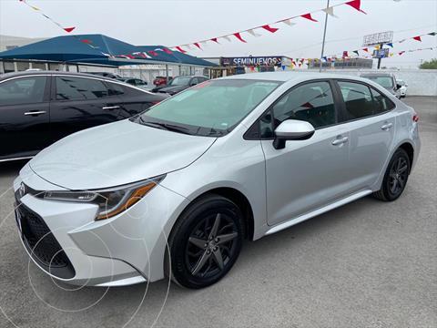 Toyota Corolla BASE CVT usado (2020) color Plata precio $285,000