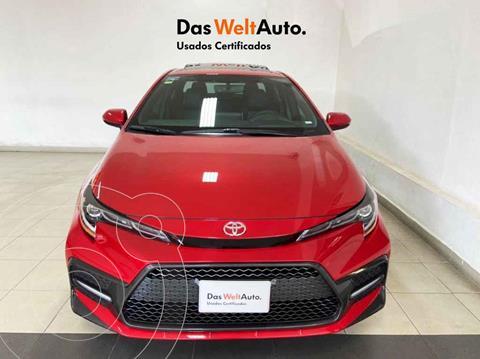 Toyota Corolla SE Aut usado (2020) color Rojo precio $399,995