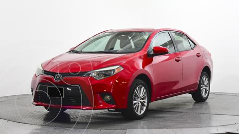 Toyota Corolla LE 1.8L usado (2015) color Rojo precio $195,000