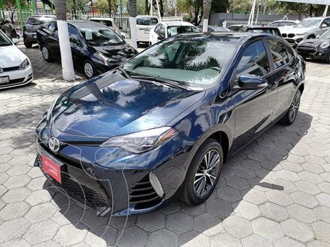 Toyota Corolla SE Aut usado (2018) color Azul precio $285,000