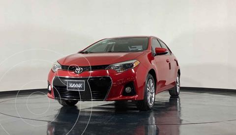 Toyota Corolla SE Aut usado (2014) color Rojo precio $207,999