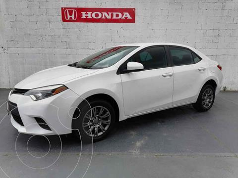 Toyota Corolla Base Aut usado (2016) color Blanco precio $209,900