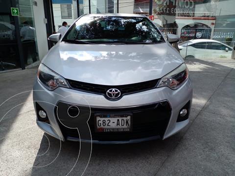 Toyota Corolla S Aut usado (2015) color Plata Metalico financiado en mensualidades(enganche $46,000 mensualidades desde $5,428)