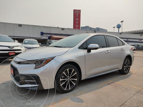 Toyota Corolla SE Aut usado (2020) color Plata precio $369,000