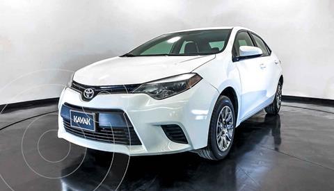 Toyota Corolla Base Aut usado (2016) color Gris precio $212,999