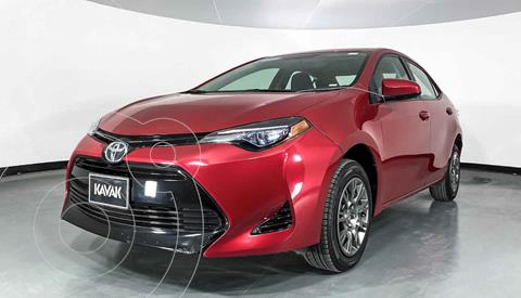 Toyota Corolla Base usado (2018) color Rojo precio $234,999