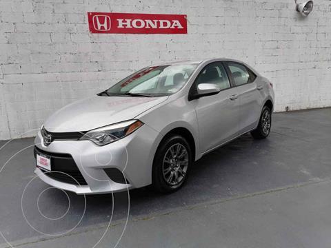 Toyota Corolla Base Aut usado (2016) color Plata precio $209,900