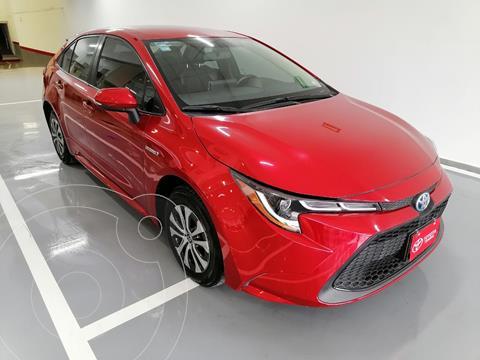Toyota Corolla Hybrid Aut usado (2020) color Rojo precio $417,000