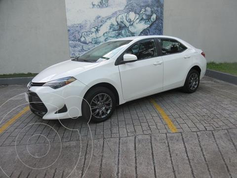 Toyota Corolla Base Aut usado (2018) color Blanco precio $275,000