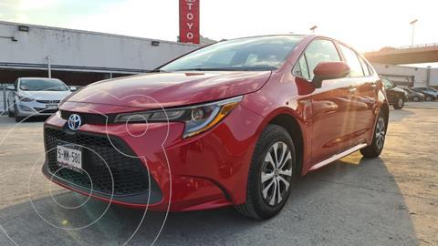 Toyota Corolla Hybrid Aut usado (2021) color Rojo precio $445,000