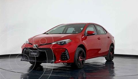 Toyota Corolla Base Aut usado (2017) color Rojo precio $268,999