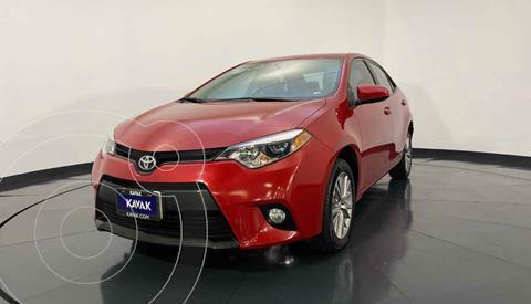Toyota Corolla LE 1.8L Aut usado (2014) color Rojo precio $187,999