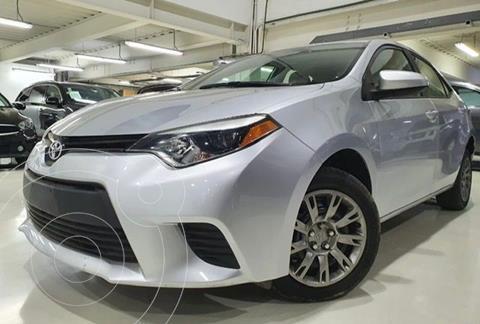 Toyota Corolla Base Aut usado (2015) color Plata Dorado precio $184,100