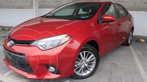 Toyota Corolla LE 1.8L Aut usado (2015) color Rojo precio $220,000