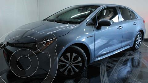 Toyota Corolla LE Aut usado (2021) color Gris precio $430,000