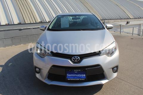 Toyota Corolla LE 1.8L usado (2016) color Plata Metalico precio $225,000