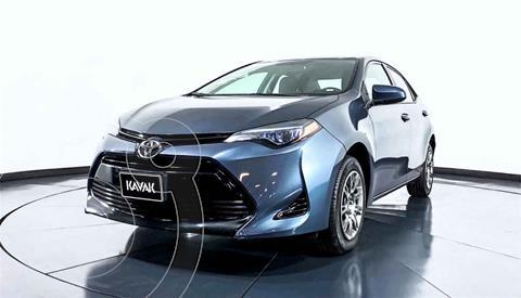 Toyota Corolla Base Aut usado (2018) color Gris precio $259,999