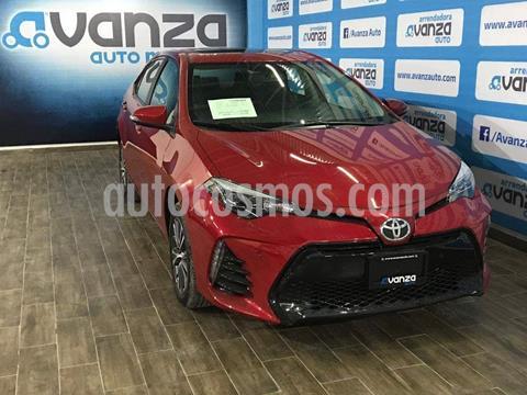 Toyota Corolla SE Plus Aut usado (2018) color Rojo Cobrizo precio $310,000