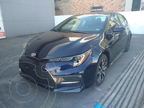 Toyota Corolla SE usado (2021) color Azul precio $439,000