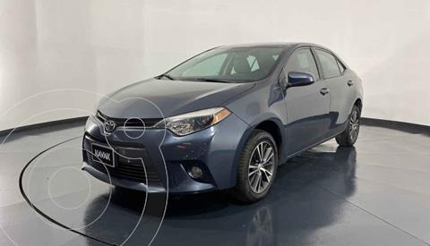 Toyota Corolla LE 1.8L Aut usado (2016) color Azul precio $219,999