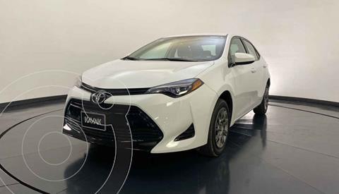 Toyota Corolla Base Aut usado (2018) color Blanco precio $209,999